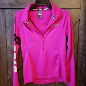 Victoria's Secret Pink 3/4 zip pullover